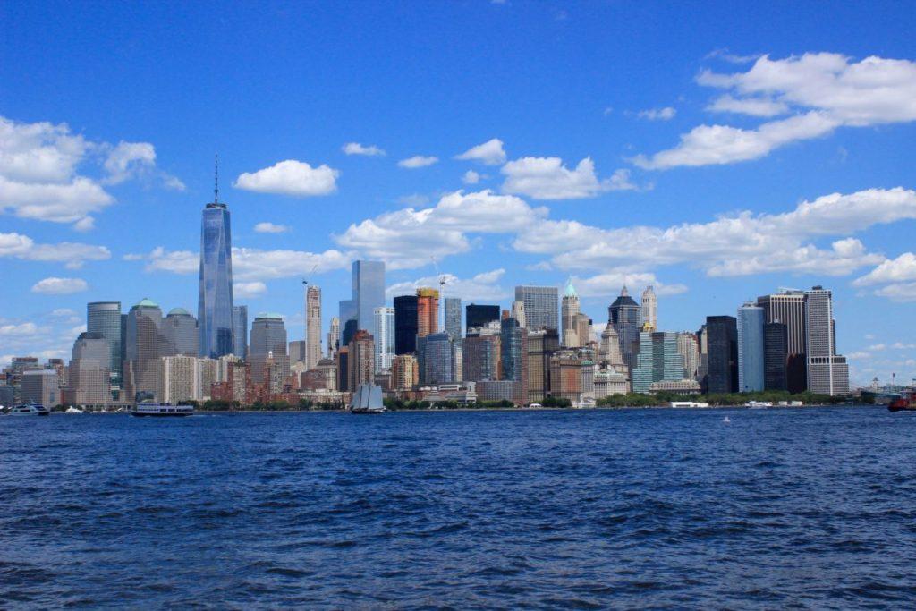 Fotoğraf : Ekin Asar, Ellis Adası'ndan Manhattan