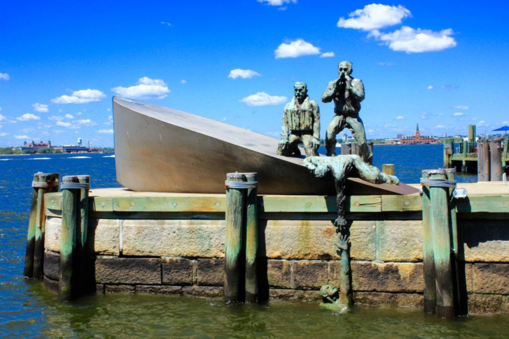 Fotoğraf : Ekin Asar, Merchant Mariners' Memorial – Battery Park