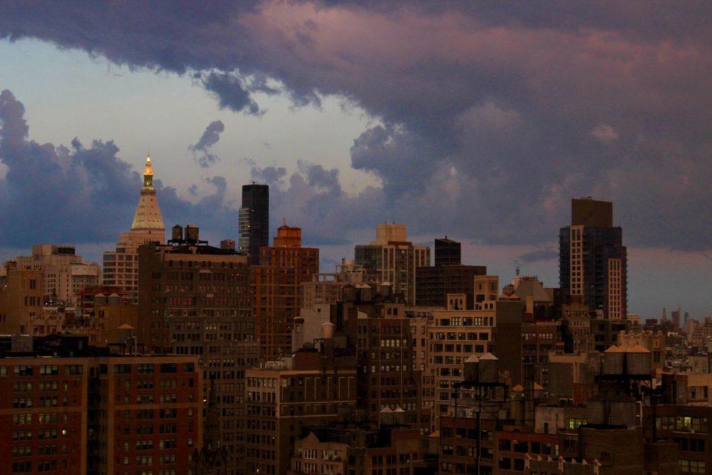 NYC Günbatımı