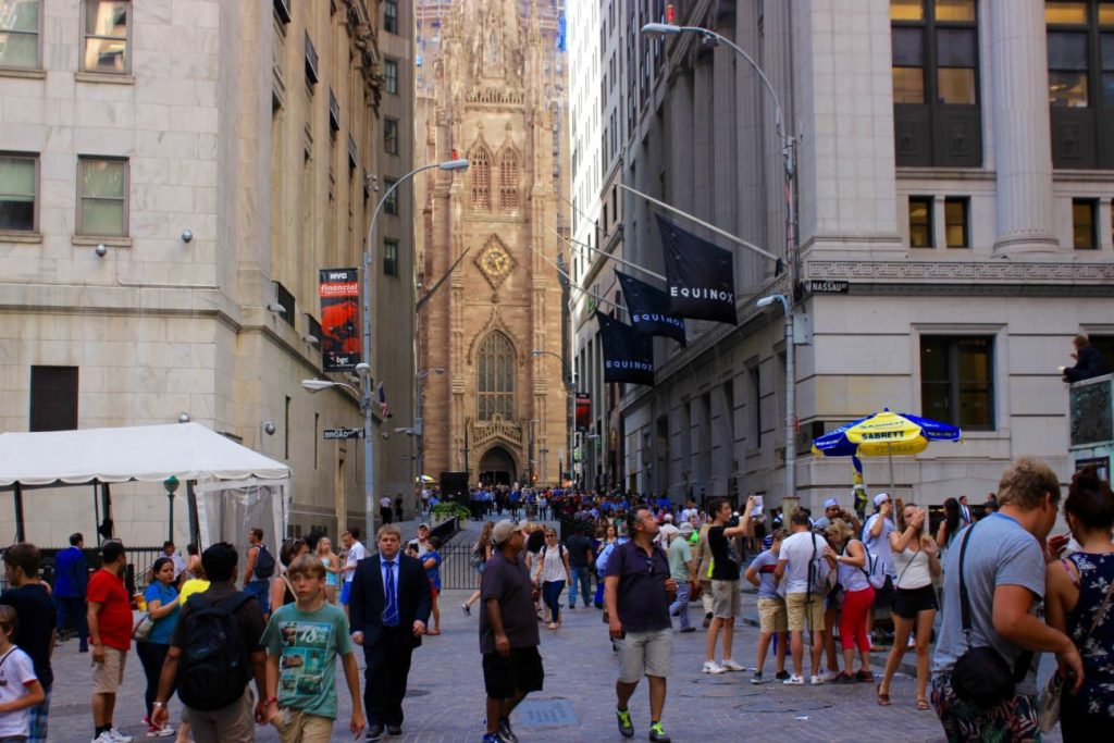 Fotoğraf : Ekin Asar, Wall Street ve Trinity Church