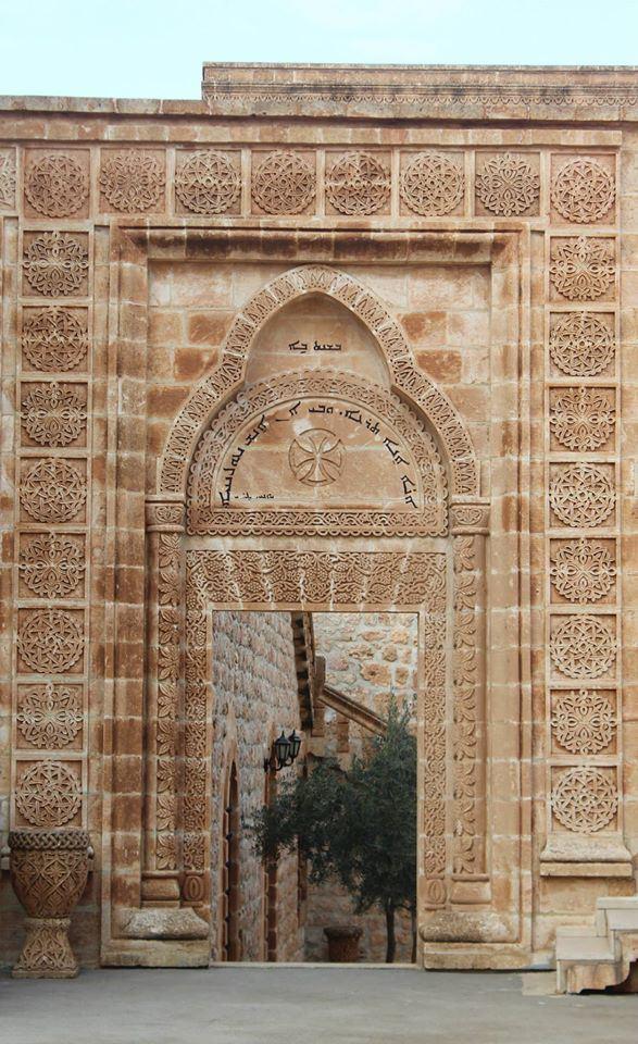 Mor Gabriel Manastırı'nda Güzel Bir Kapı