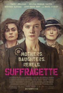 suffrage afiş