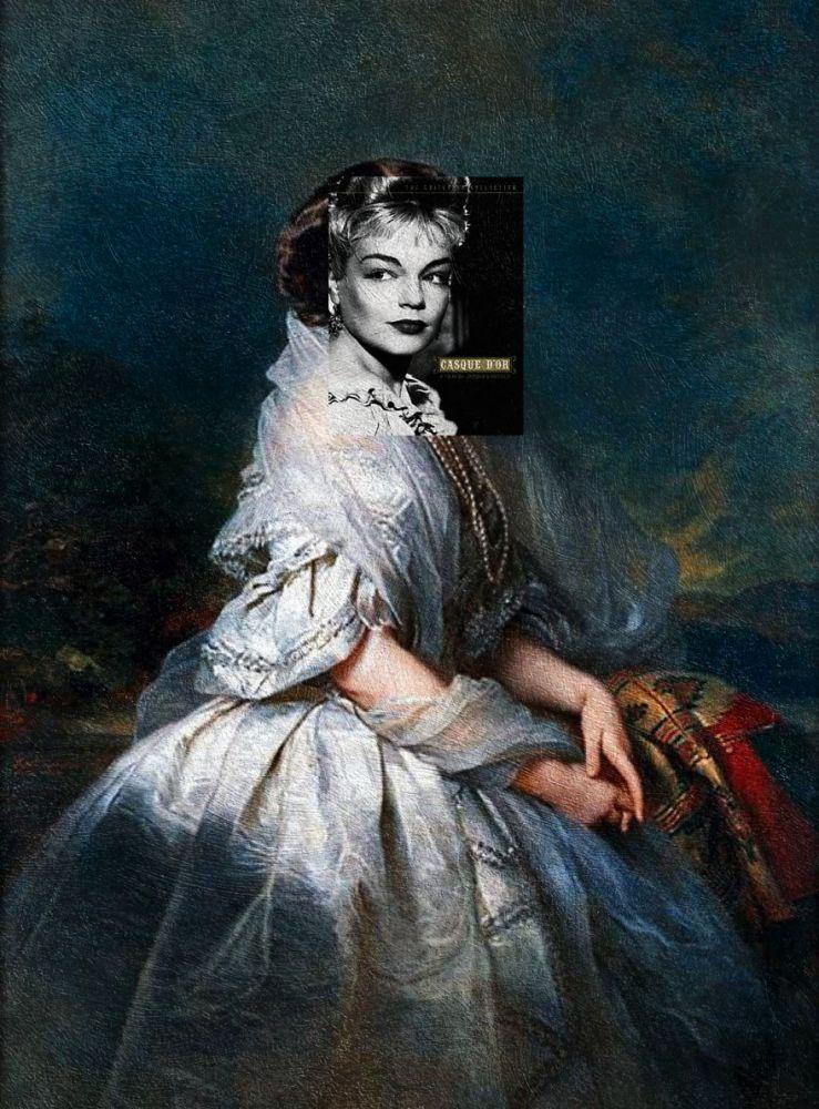 """Casque D'Or"" Jacques Becker ve ""Portrait of Eliza Franciszka of Branicki Krasińska"" Franz Xaver Winterhalter"