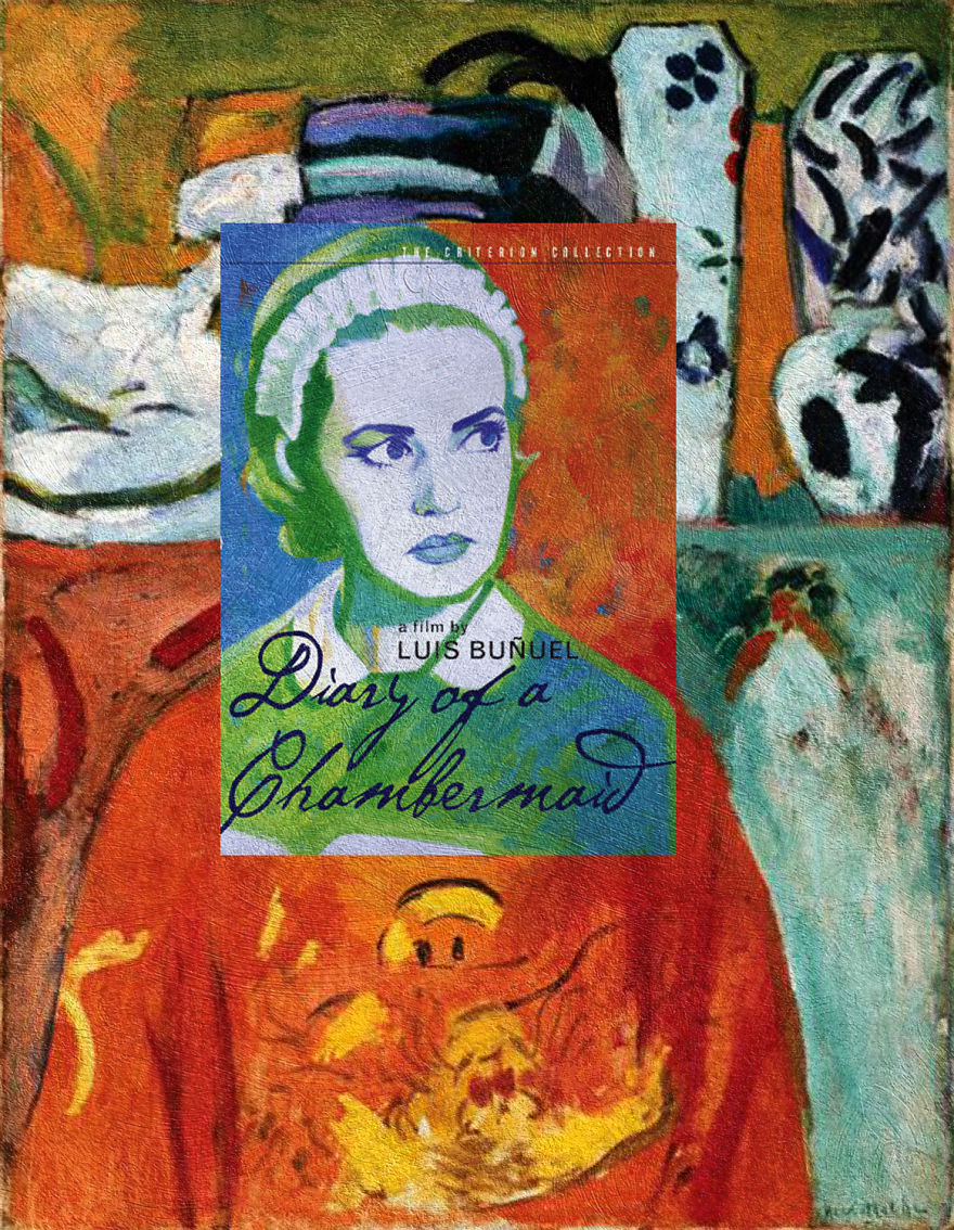 """Diary of a Chambermaid"" Luis Buñuel ""The Girl with Green Eyes"" Henri Matisse"