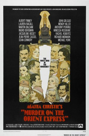 Murder On The Orient Express 1974 Sinema Odaları Suç Gizem