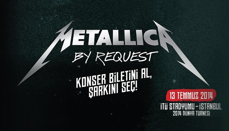 Metallica 13 Temmuz'da İstanbul'da - Bi'Dünya, Haberler - Fil'm Hafızası