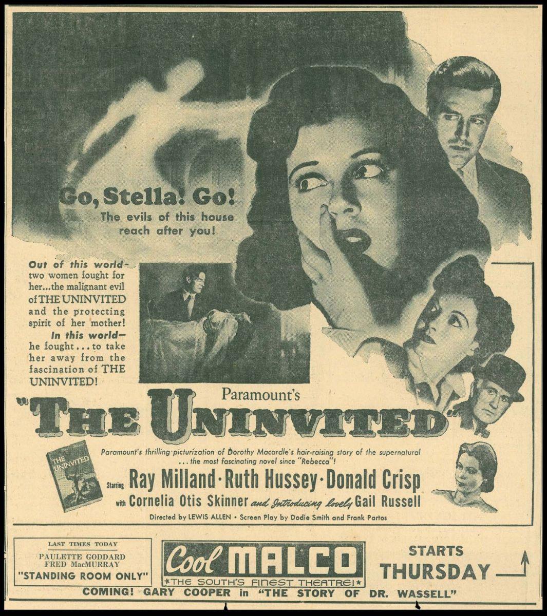 The Univited (1944) - Korku / Gerilim, Sinema Odaları - Fil'm Hafızası