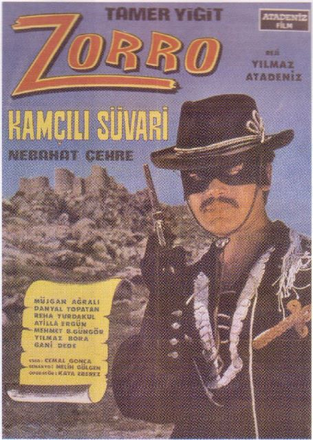 Zorro-Kamcili-Suvari-1969-poster-afis