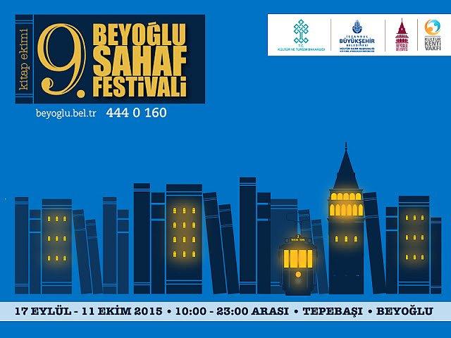 9.Beyoğlu Sahaf Festivali Başladı! - Bi'Dünya, Haberler - Fil'm Hafızası