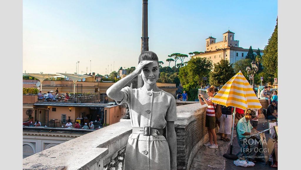 Audrey Hepburn, Trinita Dei Monti