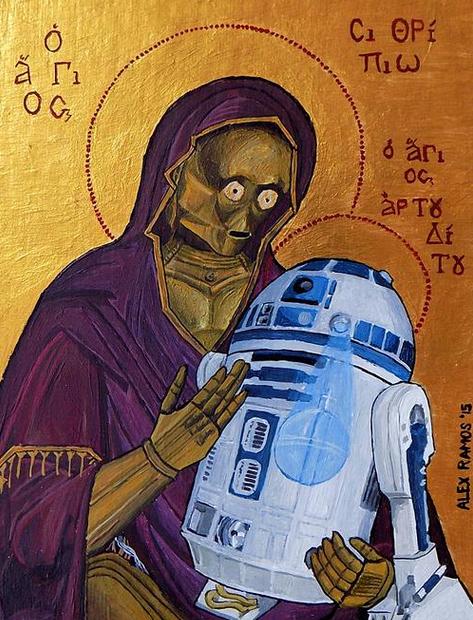 Bizans Figürlerine Uyarlanmış Star Wars Karakterleri - Çizgi Dışı - Fil'm Hafızası