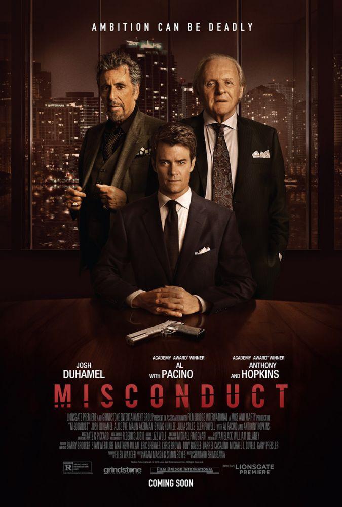 Al Pacino ve Anthony Hopkins'li Misconduct'tan İlk Fragman Geldi! - Haberler - Fil'm Hafızası