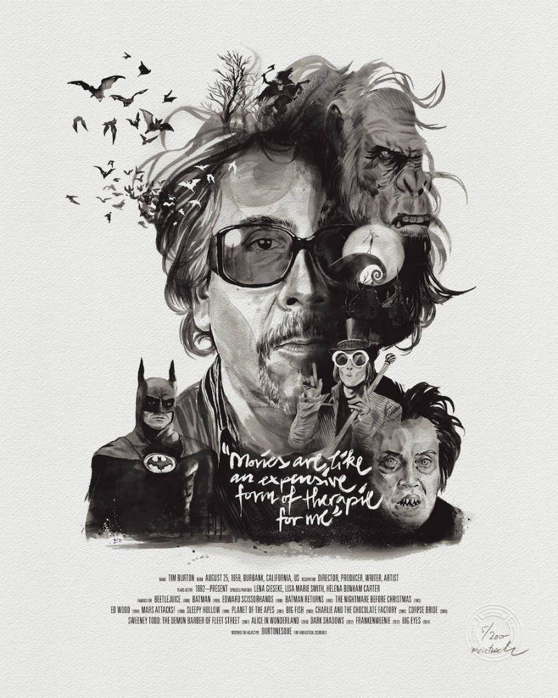 Yönetmenlere Özel Film Afişleri - Çizgi Dışı - Fil'm Hafızası