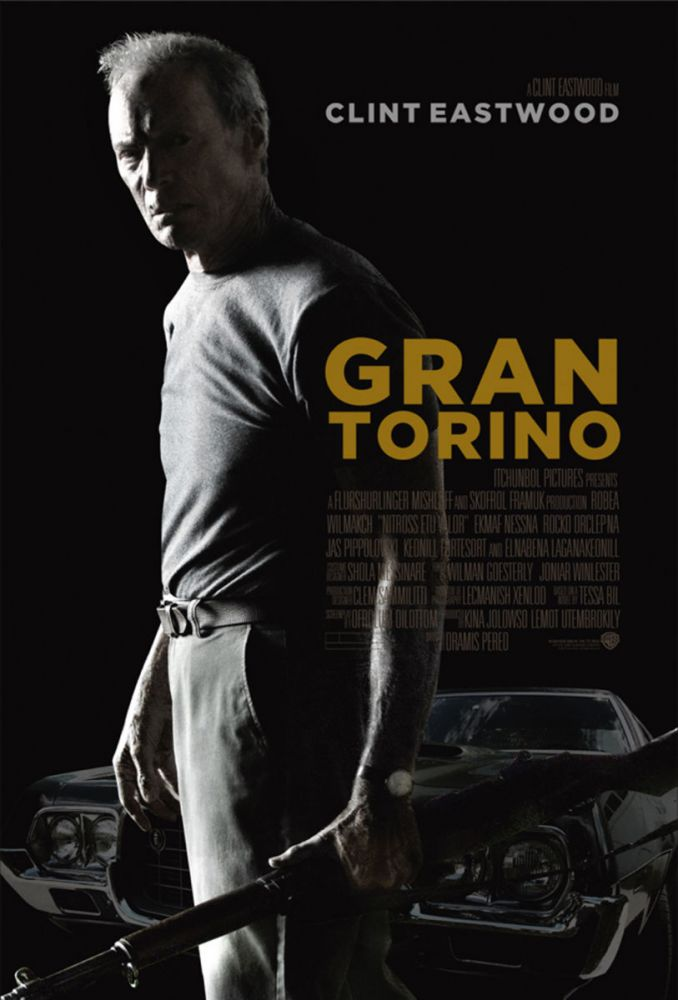 a review of gran torino as an enjoyable piece of trash Clint eastwood to maybe put drugs in his butt for the mule (gran torino)  watching some form of disreputable trash cinema.