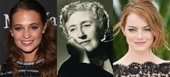Agatha Christie Filmlerinde Stone ve Vikander Yer Alacak - Haberler - Fil'm Hafızası