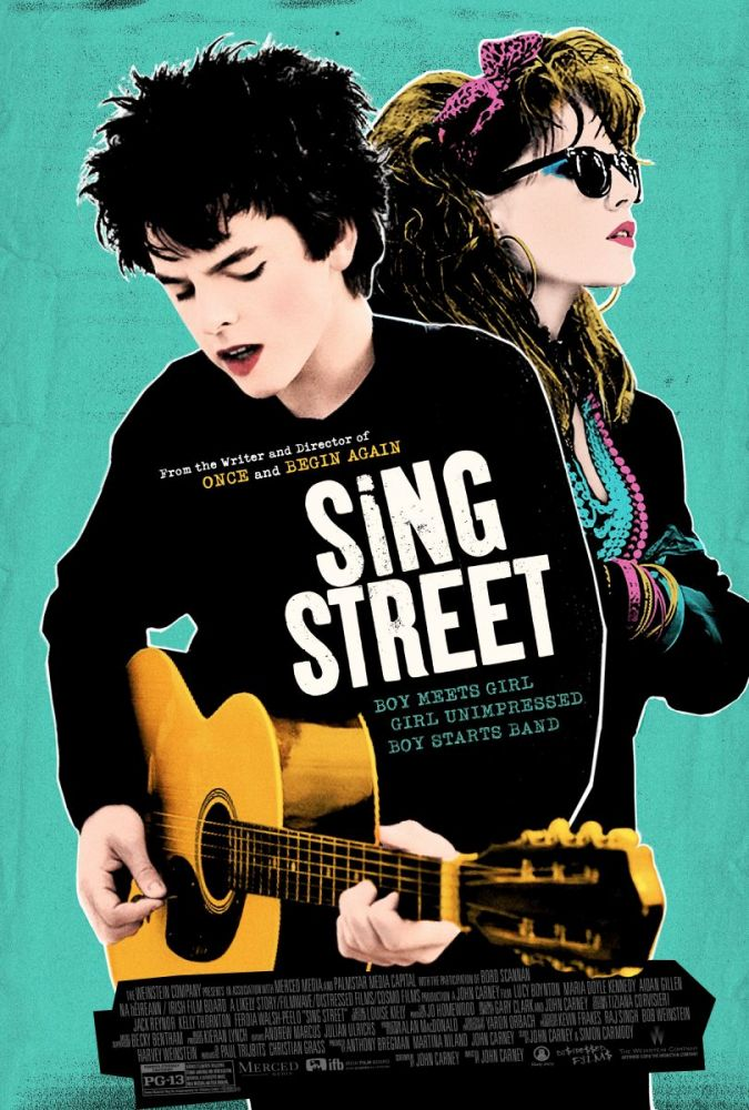 Sing Street (2016) - Drama, Komedi, Müzik / Müzikal, Sinema Odaları - Fil'm Hafızası