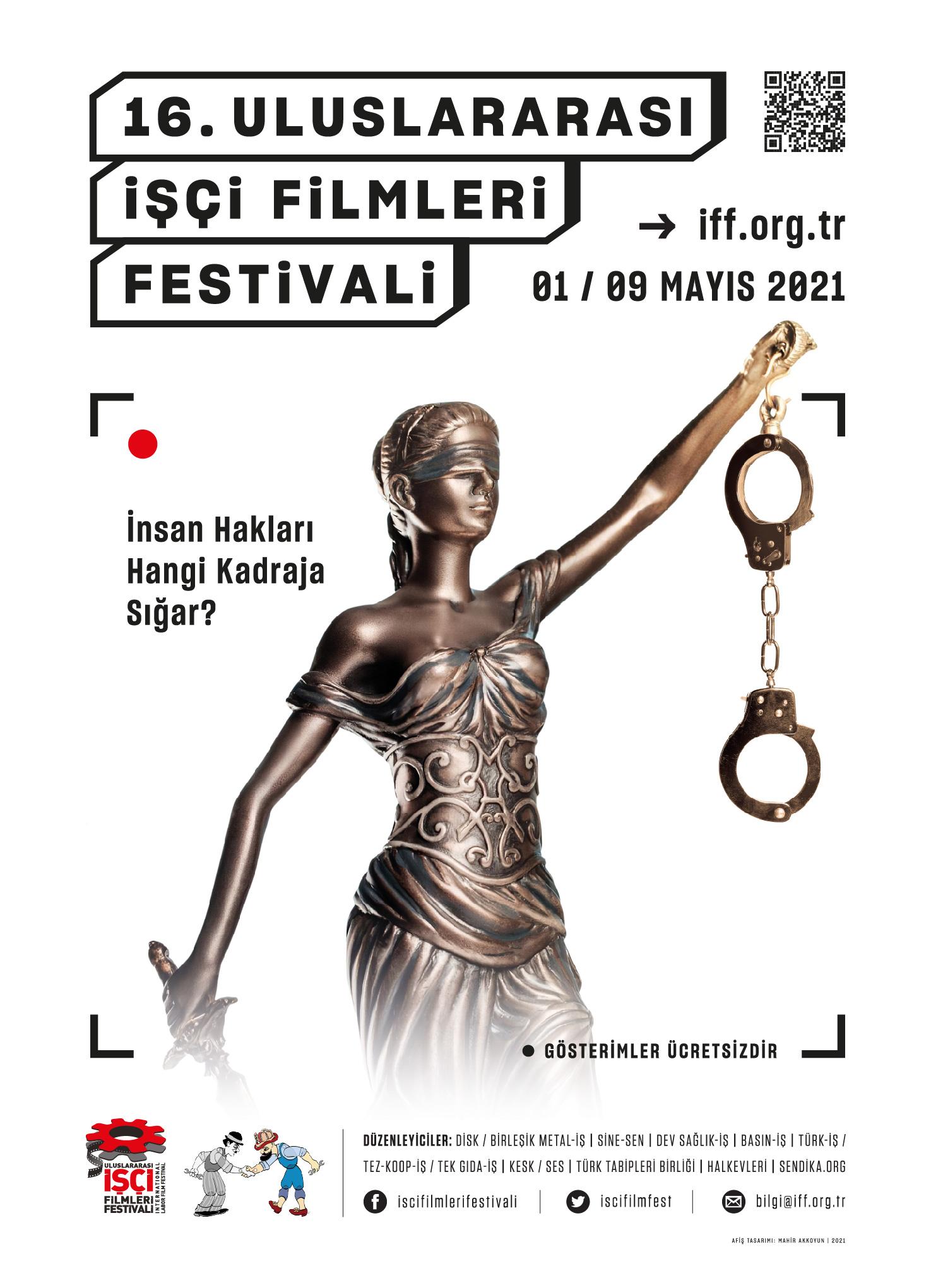 16 uluslararası işçi filmleri festivali